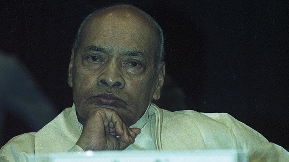 In the immediate fallout, then Prime Minister P V Narasimha Rao's government dismissed BJP govts in UP, MP, Rajasthan and Himachal Pradesh. Ten days after the mosque was demolished, Prime Minister P V Narasimha Rao set up a commission of inquiry under retired judge Justice MS Liberhan. (HT Photo)