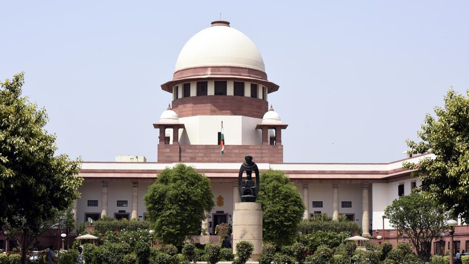 After a series of events following the Allahabad High Court verdict of a three-way division of the disputed land and its subsequent failure, the top court called for an amicable settlement over who owns the site. On the eve of 25th anniversary of the demolition the SC decided to hear civil appeals filed by various parties challenging the 2010 Allahabad High Court verdict on the Ram Janmabhoomi-Babri Masjid title dispute on February 8 next year. (Sonu Mehta / HT Photo)