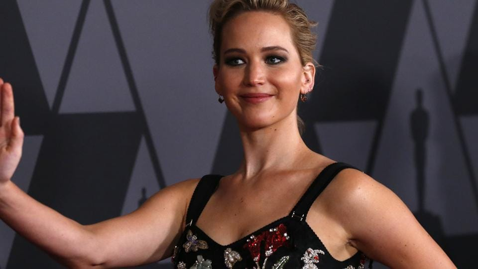 Jennifer Lawrence at the 9th Governors Awards.