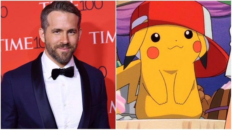 Ryan Reynolds,Pikachu,Pikachu Live Action Movie