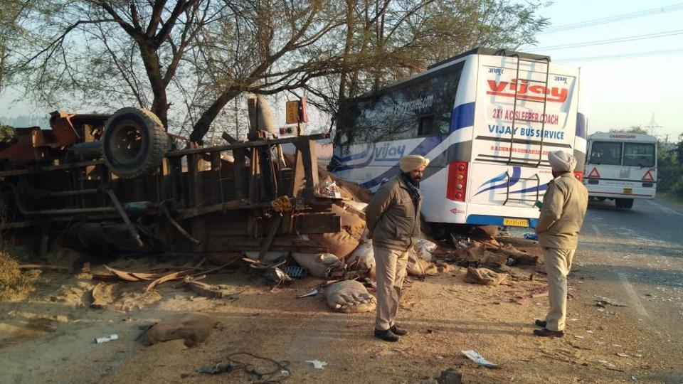 Moga,Moga accident,Punjab accident
