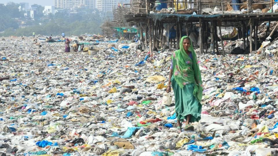 Cyclone Ockhi clears Mumbai air but dumps 80,000 kg of trash on beaches