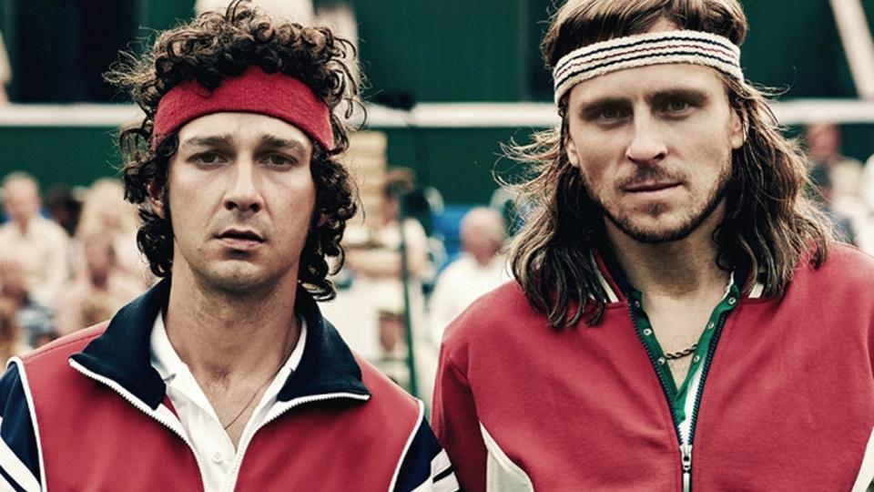 Spot-on casting ensures that Shia LaBeouf and Sverrir Gudnason are credible in their tennis action as well as in the dramatic interludes.