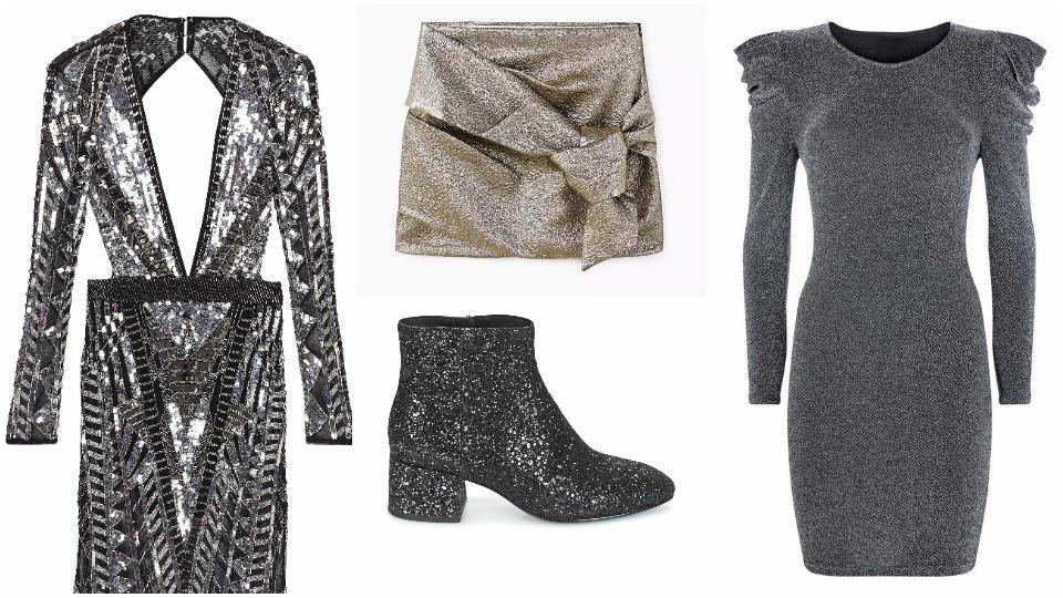 Forget understated styles for Holiday 2017 and ramp up the glam to see in the new year with bold, fun-filled style.
