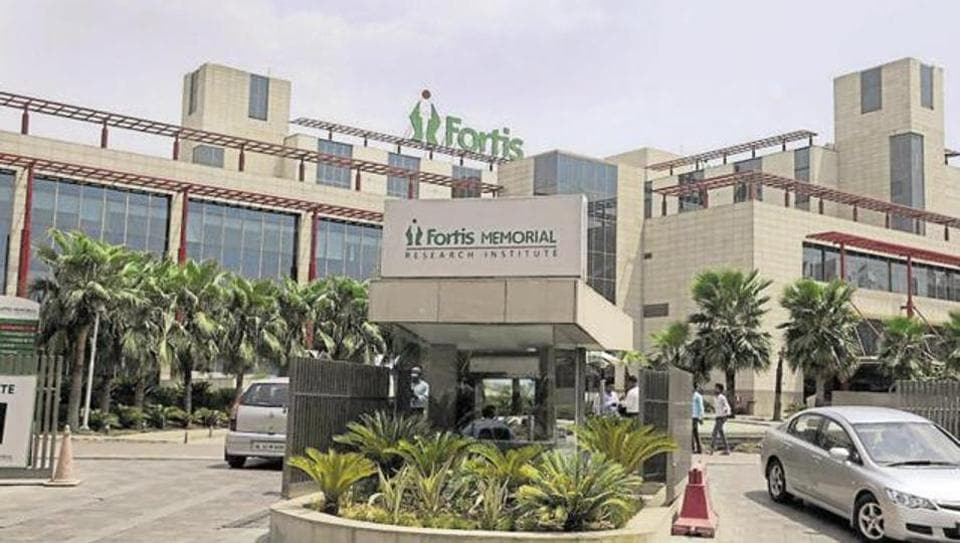 Haryana health minister has said that the govt will lodge a police case against the hospital for negligence.