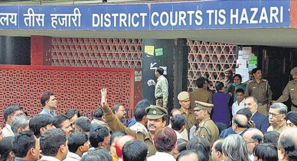 The 2005 cash-for-query scam is being heard at Delhi's Tis Hazari court.