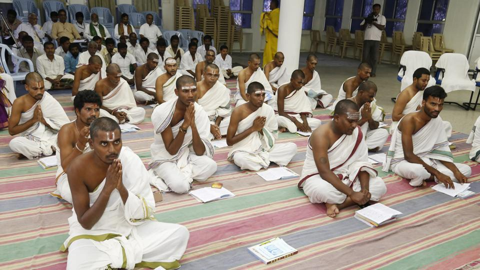 More than 200 people belonging to SC, ST and fishermen communities are being trained by Tirumala Tirupati Devasthanams  to appoint them in temples the trust is constructing across Andhra Pradesh.