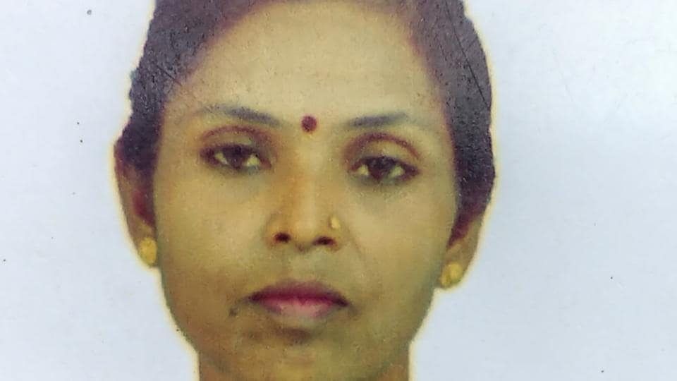 Sharda Ghodeswar died after a tree fell on her on Thursday.