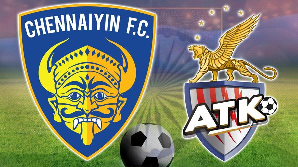 Indian Super League,Chennaiyin FC vs ATK,live score