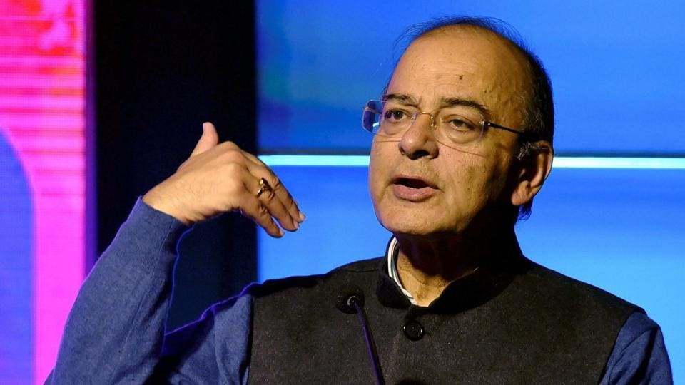 Union finance minister Arun Jaitley.