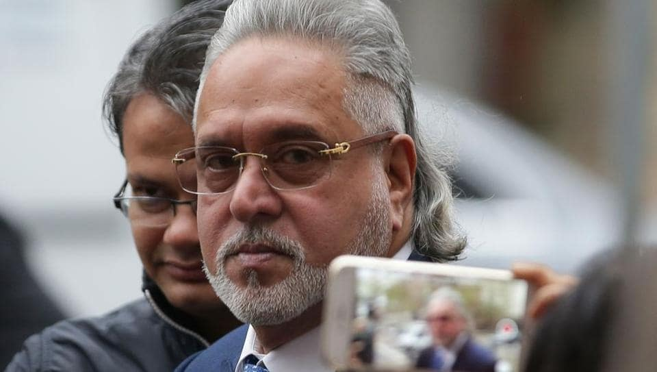 Liquor tycoon Vijay Mallya arrives at Westminster Magistrates Court in central London on Thursday for a hearing in his extradition trial.