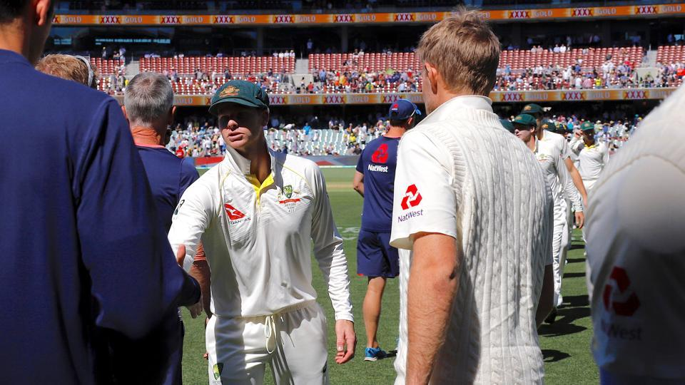 Australian captain Steve Smith already has the Ashes urn on his mind after beating England by 120 runs at Adelaide.