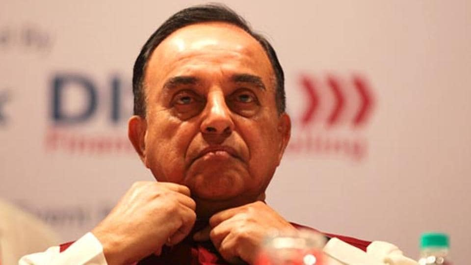 BJP leader Subramanian Swamy has called for shifting of India's embassy in Israel to Jerusalem.