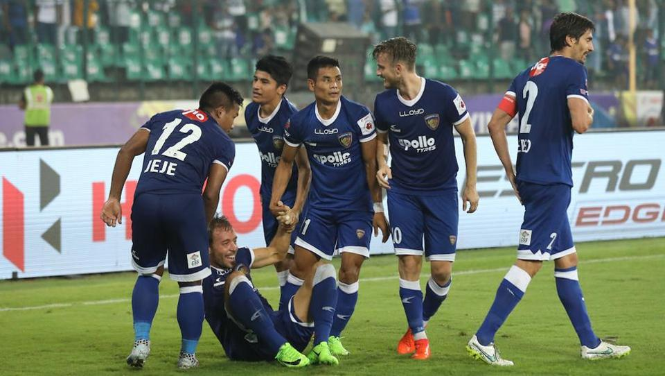 With the win, Chennaiyin are at the top of the ISL standings with 9 points from four games. (ISL)