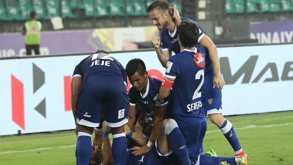 A brace from Jeje Lalpekhlua handed Chennaiyin FC a 3-2 win over ATK in the Indian Super League on Thursday. (ISL)