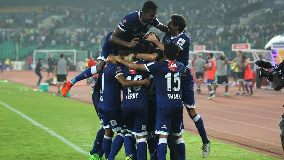 Chennaiyin took the lead again through Inigo Calderon in the 84th minute. (ISL)