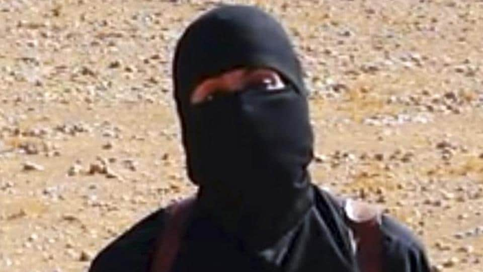 A photograph of Jihadi John who has been identified by certain media agencies to be Mohammed Emwazi.