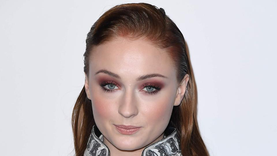Sophie Turner attends An Evening Honoring Louis Vuitton and Nicolas Ghesquiere at Alice Tully Hall at Lincoln Centre.