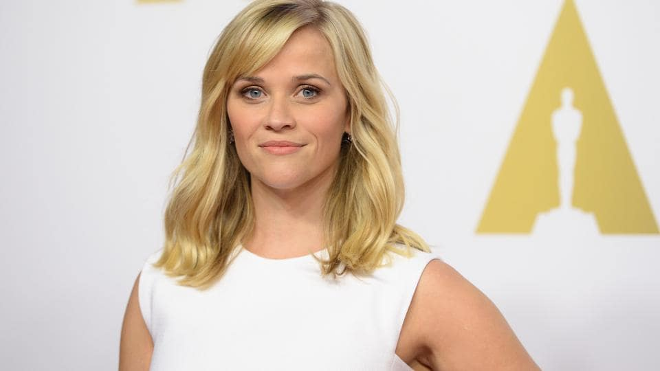 This file photo taken on February 2, 2015 shows actor Reese Witherspoon arriving for the Oscars Nominees' Luncheon.