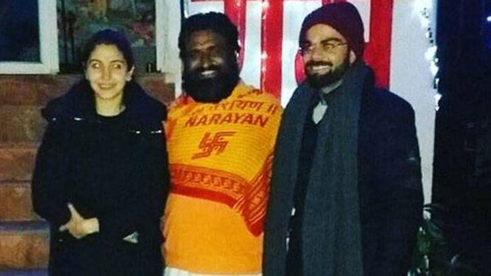 Virat Kohli and Anushka Sharma met Maharaj Anant Baba on their visit to Uttarakhand earlier this year.