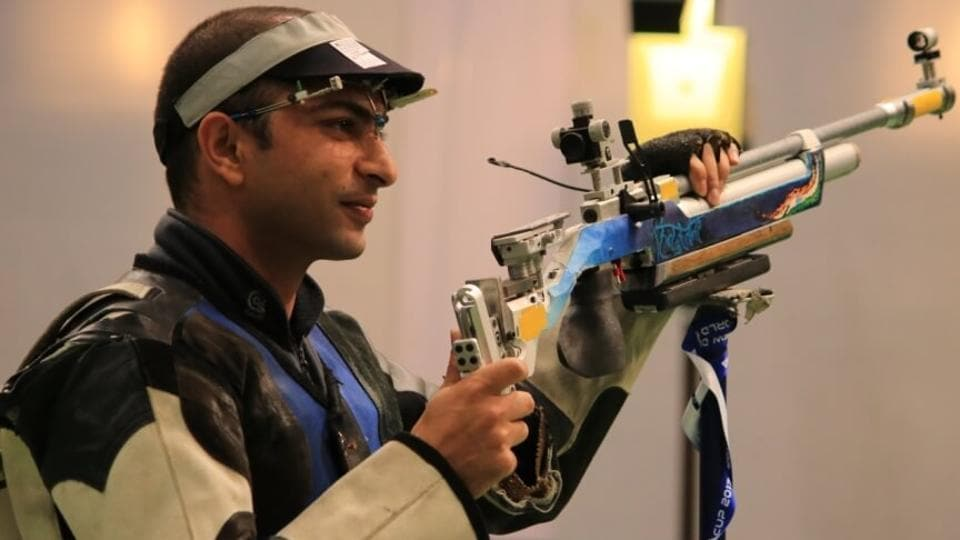 Asian Airgun Shooting Championships,India Shooting,Gagan Narang