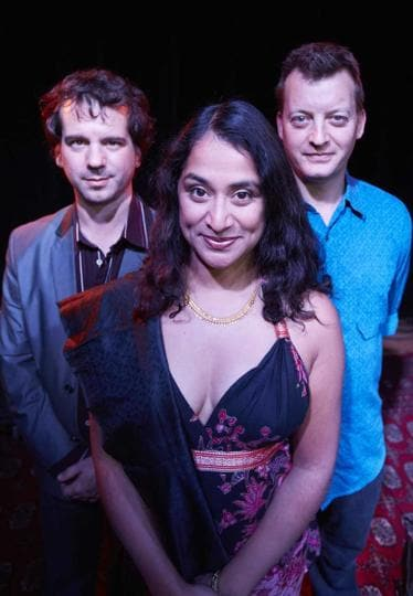 Vocalist Suba Sankaran, tabla player Ed Hanley and bass player and beat-boxer Dylan Bell will perform a mix of old and new songs this weekend.