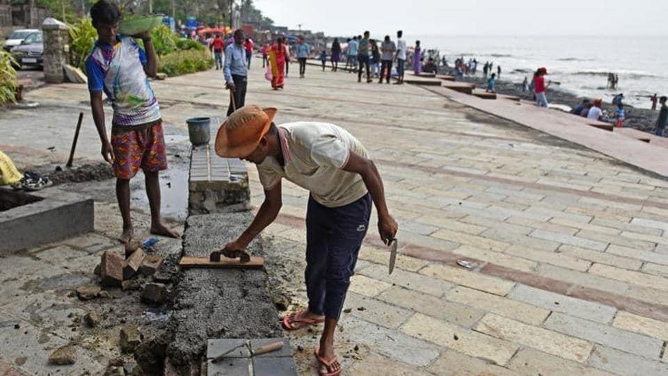 MUMBAI NEWS,CARTER ROAD PROMENADE,BANDRA