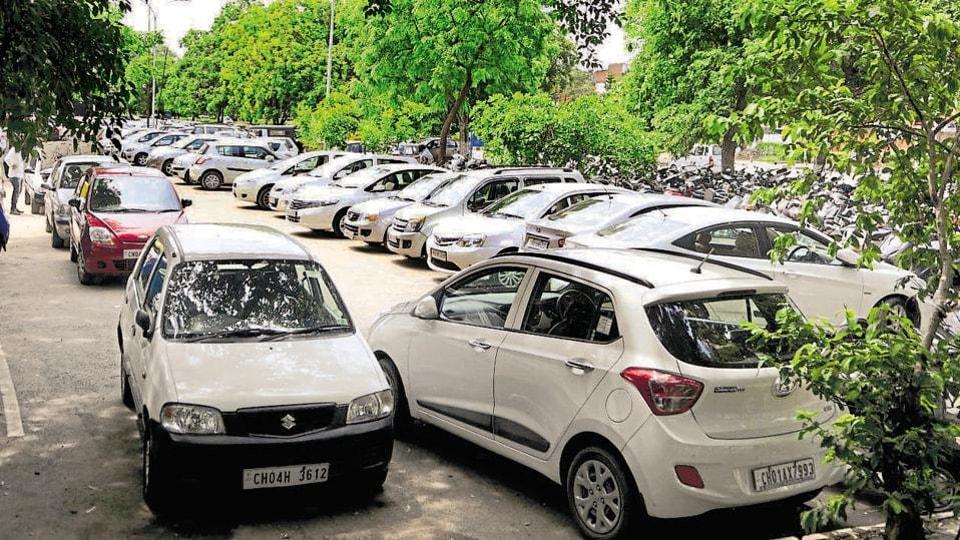 Chandigarh parking,parking in Chandigarh,Chandigarh news