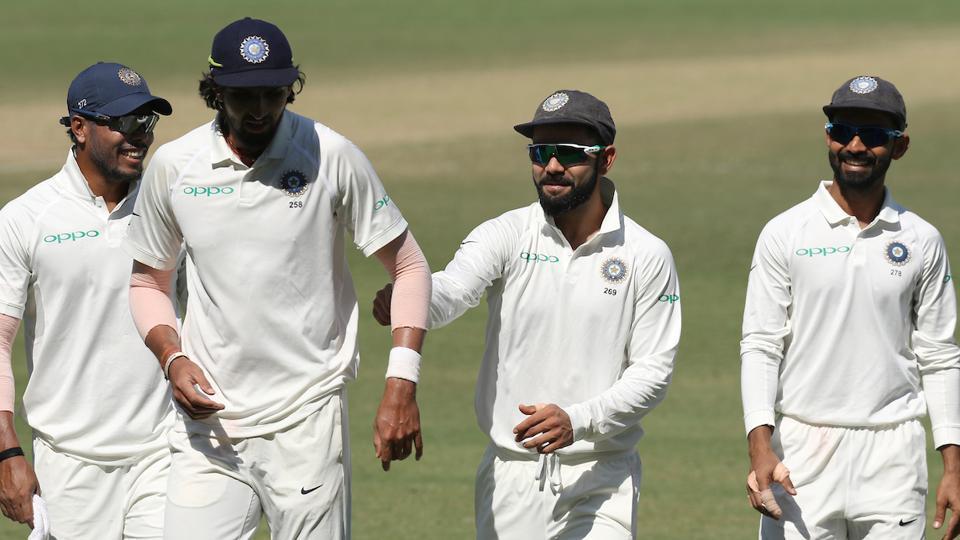 Virat Kohli's Indian cricket team won the three-Test series against Sri Lanka 1-0.