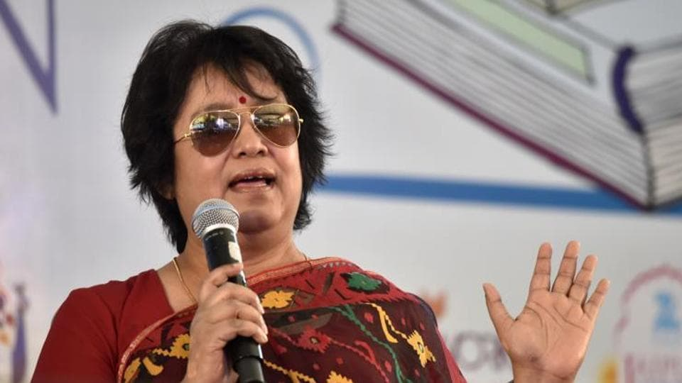 Bangladeshi writer Taslima Nasreen is living in Delhi in self-exile for the past five years.