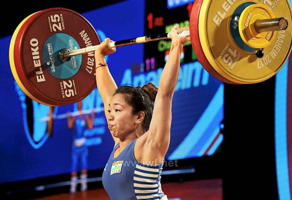 Mirabai Chanu,World Weightlifting Championship,Rio Olympics