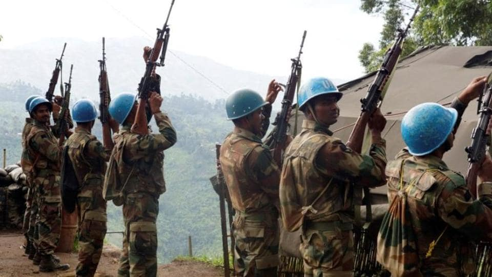 United Nations peacekeepers killed and 40 wounded in Congo attack