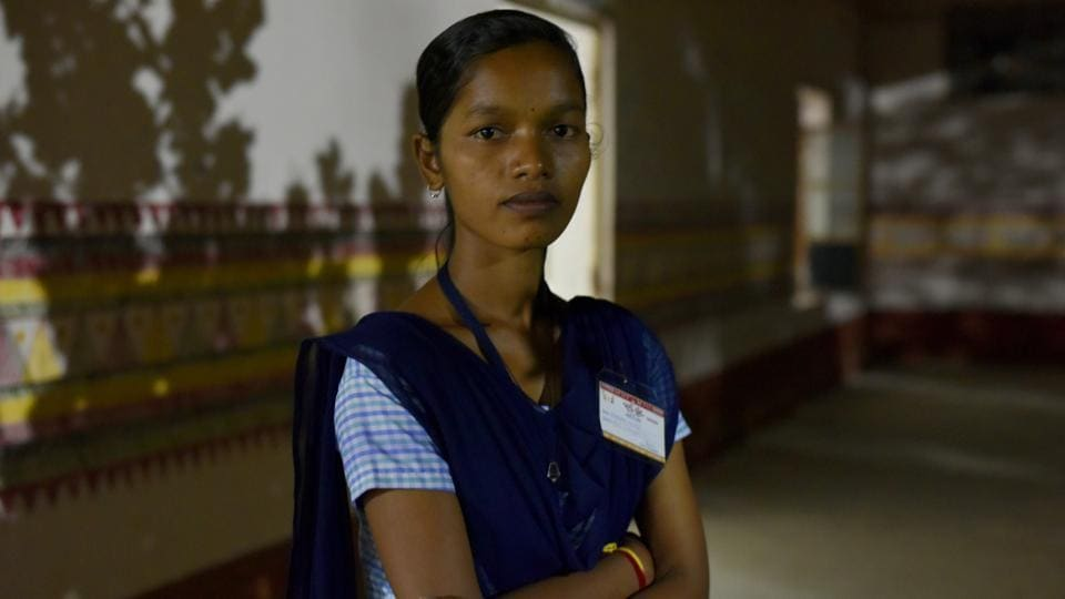 Purnima Huika, of the Dongria Kondh tribal community in Odisha, is among the top performers in her school's Class 10 exams. She is among the 14 girls who are the first from their community to clear Class 10 exams.