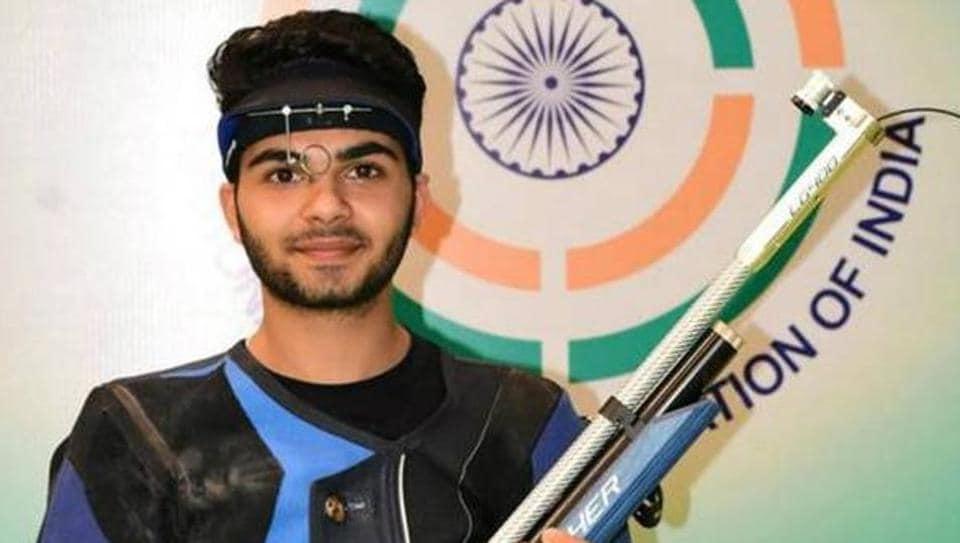 Arjun Babuta,Asian Airgun Championship,Shooting