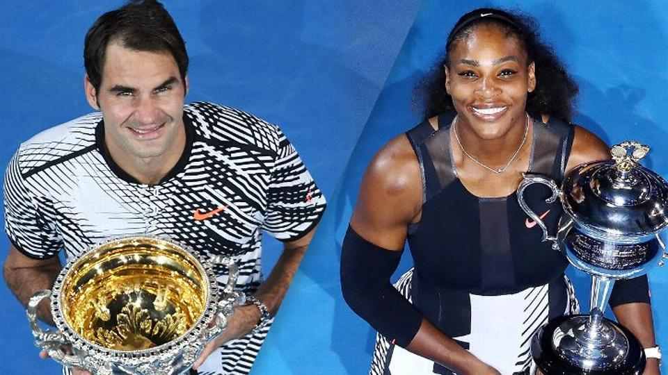 Serena Williams and Roger Federer have become accustomed to success, but even by their standards the 2017 Australian Open was remarkable. Federer rolled back the years, edging a final for the ages with Rafael Nadal that felt like stepping into a tennis time warp. As for Williams, her seventh title in Melbourne – and 23rd grand slam overall – came while she was in the early stages of pregnancy. (REUTERS)