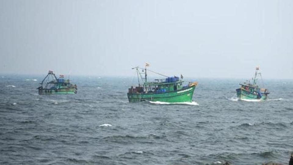 Lankan fishermen,Indian waters,Kameswaram coast