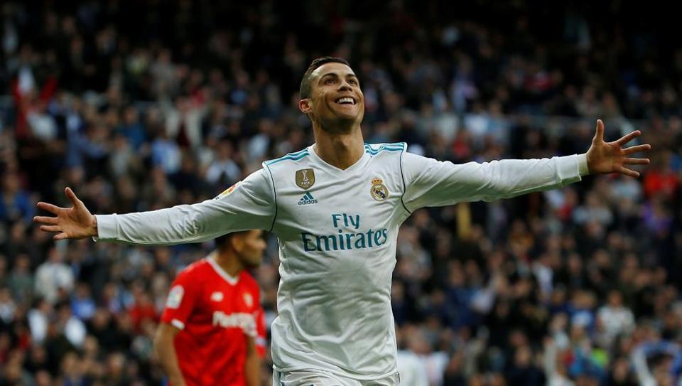 Cristiano Ronaldo,Real Madrid,Sevilla
