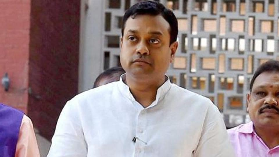BJP spokesperson Sambit Patra in New Delhi.