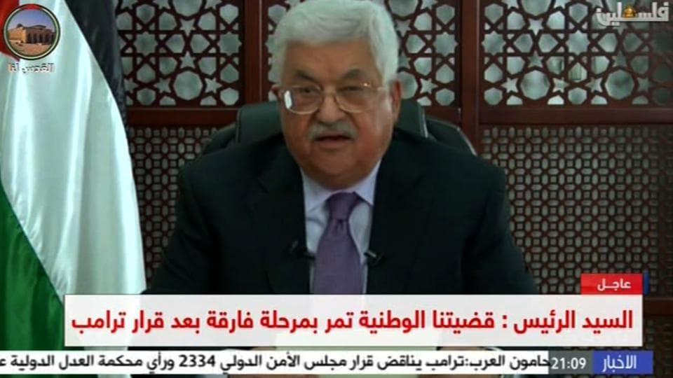 Palestine,Mahmud Abbas,United States of America