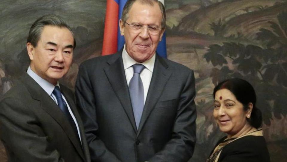 China-Russia Foreign Ministers' meet revs up RIC