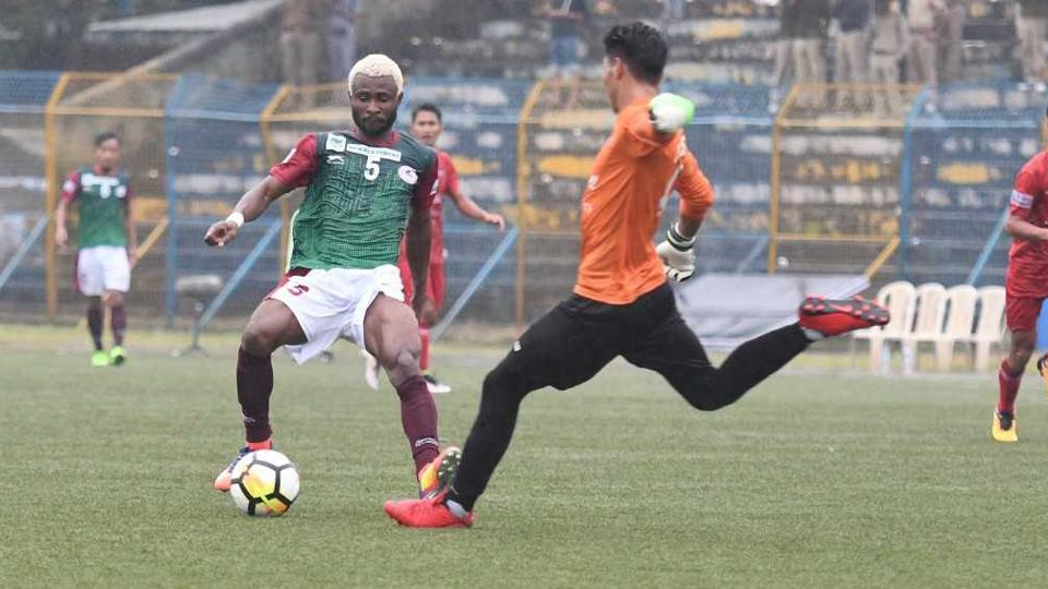 Mohun Bagan defeated Churchill Brothers in their I-League encounter.