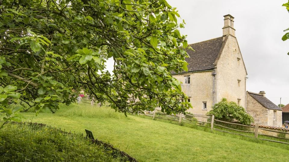 Woolsthorpe Manor in Woolsthorpe-by-Colsterworth, near Grantham, Lincolnshire, England, is the birthplace and was the family home of Sir Isaac Newton. He was born there on December 25, 1642.