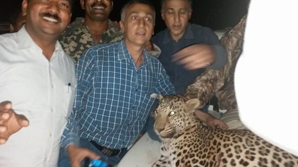 Forest department,maharashtra,killer leopard