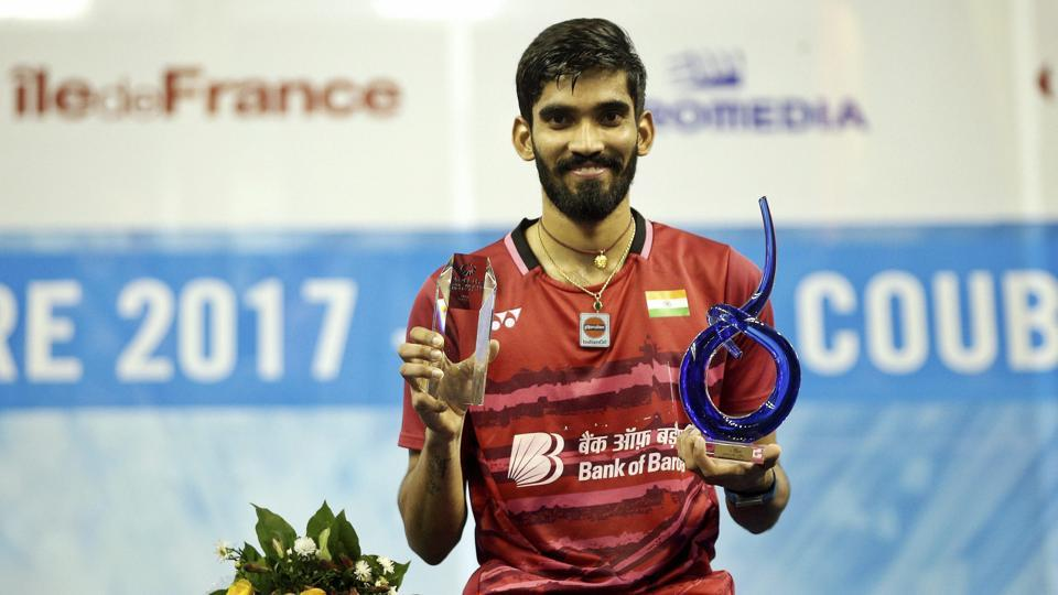 Kidambi Srikanth recently rose to 4th in the rankings but is more focused on winning the upcoming Dubai Super Series.