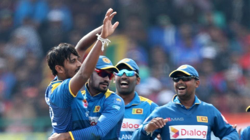 Lakmal joined the party soon as he removed Rohit for two in the fifth over.  (BCCI )