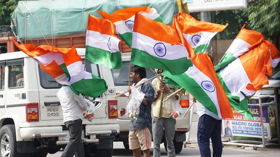 RSS leader,Tricolour flag,Intolerance