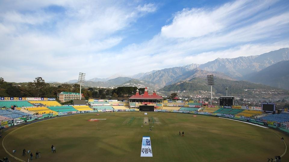 This was India's fourth ODI in Dharamsala.  (BCCI )