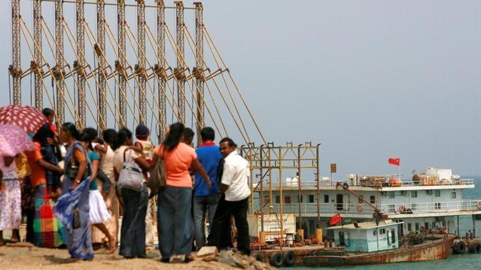 Hambantota port,China,Sri Lanka