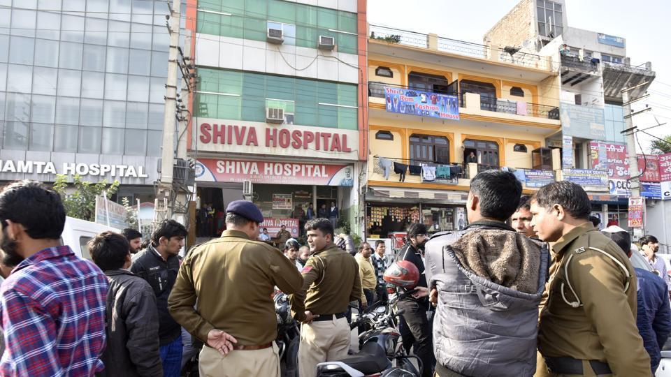 Private hospitals,Shiva Hospital,CCTV