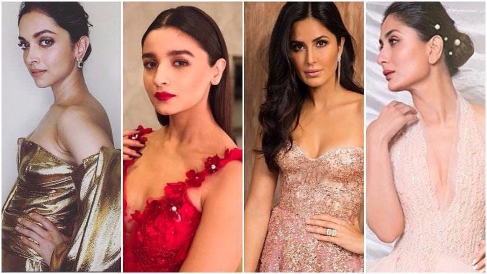 Deepika Padukone, Alia Bhatt, Katrina Kaif and Kareena Kapoor Khan put their most stunning foot forward at the Lux Golden Rose Awards.